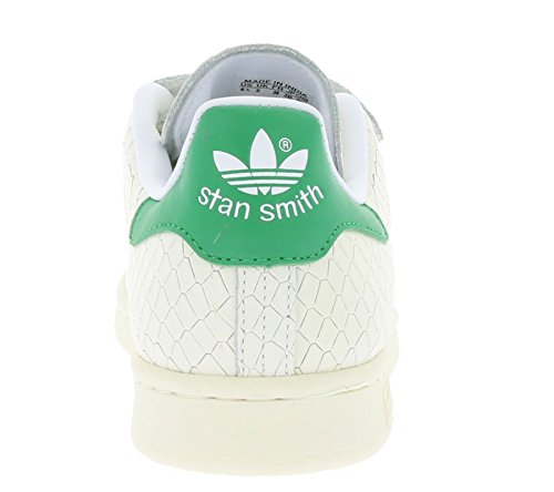 Adidas, Donna, Stan Smith Cf W, Pelle, Sneakers, Bianco