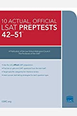 10 Actual 42-51, Official LSAT Preptests: (PrepTests 42–51) Paperback
