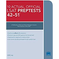 10 Actual 42-51, Official LSAT Preptests: (PrepTests 42–51)
