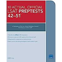 10 Actual, Official LSAT Preptests 42-51