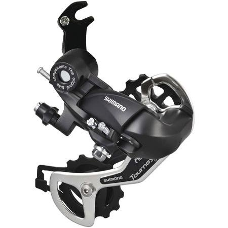 Shimano TY-300 Speed Rear Deraileur (Black)