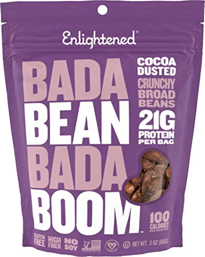 Enlightened Plant Protein Gluten Free Roasted Broad Fava Bean Snack