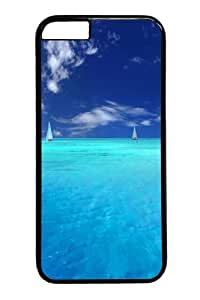 iPhone 6 Cases & Covers -Blue Paradise Custom PC Hard Case Cover for iphone 6 4.7 inch Black