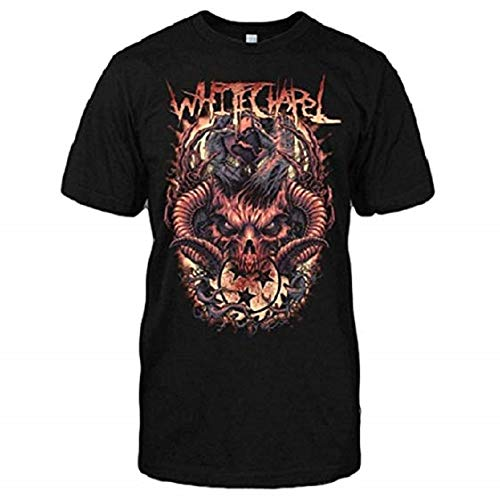 Whitechapel Hold The World T-Shirt (Medium)