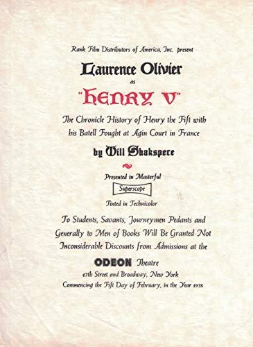 Top 5 best henry v lawrence olivier