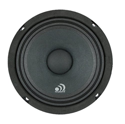 - Massive Audio MB6 MB Series. 6.5 Inch, 350 Watts, 8 Ohm Pro Audio Midrange/Midbass Speaker for Cars, Stage and DJ Applications. Sold Individually.