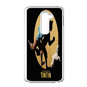 Custom Case TinTin cartoon for LG G2 C5R9237499