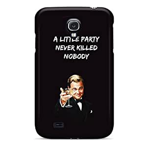 Tpu Fashionable Design Gatsby A Little Party Rugged Case Cover For Galaxy S4 New