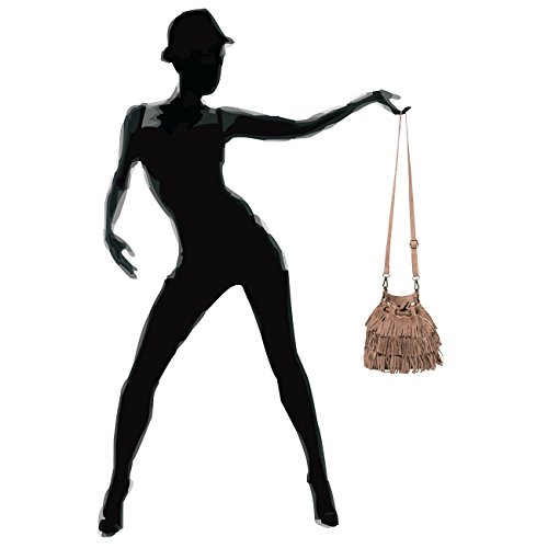Donna A Fashion Marrone Mano kaki Borsa Caspar OPvaWTP