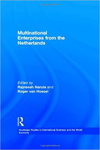 Book Multinational Enterprises from the Netherlands (Routledge Studies in International Business and the World Economy)
