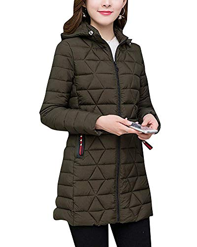 Cappotti Vento Lunghi Donna Pesante 3xl A Green Women Spesso Giacca Casual Soprabito Caramel Jacket Da Size Home Army color Outwear Parka wqtXnx1E7n