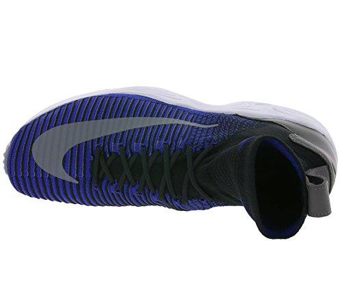 Nike Zoom Air Mercurial XI Flyknit Uomini Sneaker Blu 844626 004