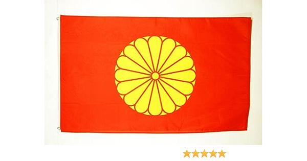 AZ FLAG Bandera del JAPÓN Imperial 150x90cm - Bandera Japonesa DE Guerra 90 x 150 cm: Amazon.es: Hogar