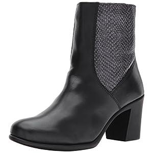 Aerosoles Women's Hole of Fame Mid Calf Boot, Black Leather, 7 M US