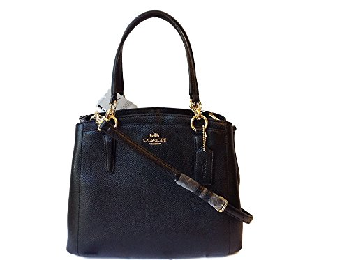 COACH Crossgrain Leather Minetta Crossbody Shoulder ()