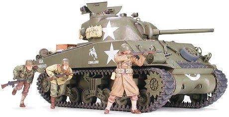 (Tamiya Models - 1/35 Us M4A3 Sherman Tank W/75Mm Gun (Plastic Models))