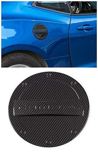 - Highitem Carbon Fiber Grain Newest Exterior Fuel Tank Cover Gas Lid Cap Accessories ABS For Chevrolet Camaro 2016 Up (Carbon Fiber Grain)