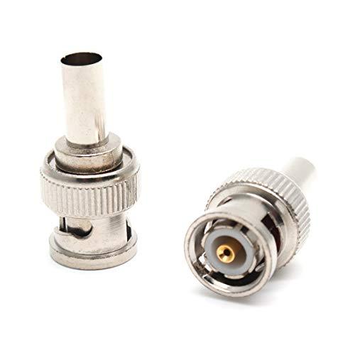 - ZXHAO BNC Male RG58 Plug Crimp Connectors 20pcs