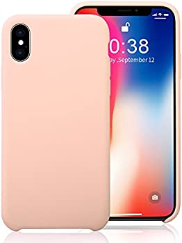 Jisoncase iPhone X Durable Shockproof TPU Rubber Silicone Case