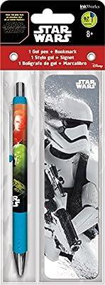 Trends International Star Wars The Force Awakens Gel Pen + Bookmark Pack