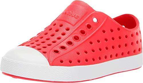 (Native Kids Shoes Baby Girl's Jefferson (Toddler/Little Kid) Sakura Red/Shell White 11 M US Little)