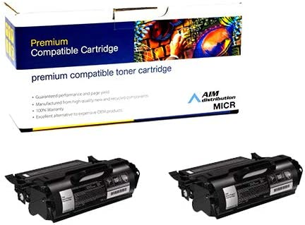 39V39032PK AIM Compatible Replacement for IBM InfoPrint 1872//1892 Toner Cartridge 2//PK-36000 Page Yield - Generic