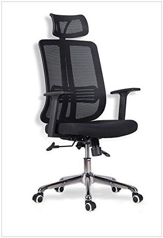 オフィスチェア コンピューターチェア人間工学に基づいたオフィスチェアメッシュスイベル人間工学に基づいたオフィスチェア,シンプルな高弾性フ