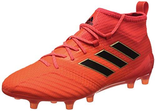 rouge Chaussures Ace Homme adidas FG noir orange solaire 1 17 de Football fluo 0PI1qPx