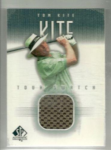 (2001 Upper Deck SP Authentic Golf Tom Lehman Tour Threads Shirt Piece)