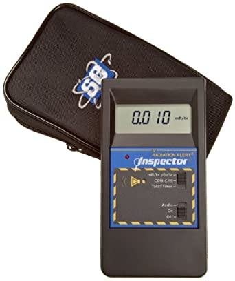 Radiation Alert INSPECTOR Microprocessor-Based Ionizing Radiation Detector