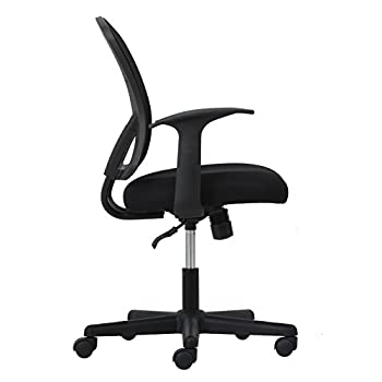 Essentials Swivel Mesh Task Chair With Arms - Ergonomic Computeroffice Chair (Ess-3011) 11