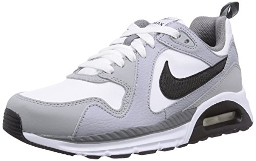Nike Air Max Trax (Gs), Baskets mode mixte enfant Gris (Blanco/Gris/Negro)