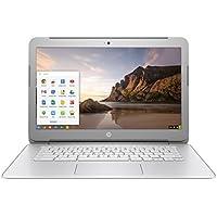 2017 HP 14 HD SVA BrightView Backlit Screen Premium High Performance Chromebook, Intel Celeron Processor, 4GB RAM, 16GB SSD, WIFI, Bluetooth, HDMI, Webcam, USB 3.0, Chrome OS (Certified Refurbished)