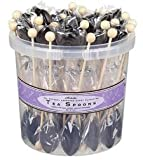 All Natural Lavender Tea Spoons Bulk: 50 Count
