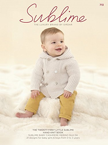 Sublime The Twenty Sublime Baby Hand Knit Book 713 Knitting Pattern