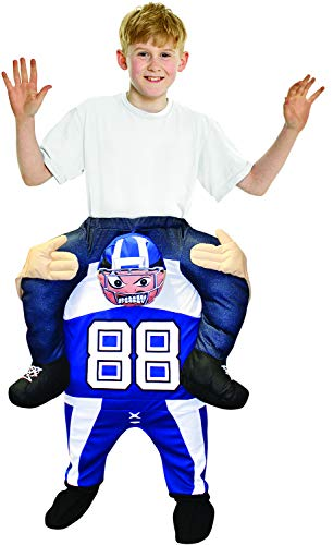 Morphsuits Footballer Piggyback Kids Costume, One Size
