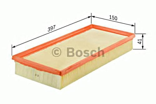 1612 Sb (BOSCH Engine Air Filter Insert Fits FORD Mondeo Cougar 1.6-2L 1993-2001)