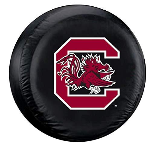 (South Carolina Gamecocks NCAA Spare Tire Cover (Black))