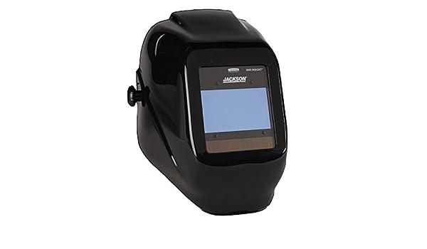Jackson seguridad Insight variable Auto oscurecimiento casco de soldadura, Halox, ADF, Negro: Amazon.es: Industria, empresas y ciencia