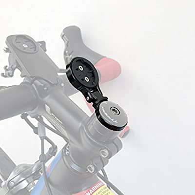 Garmin Egde Out Front Bike Computer Mount for Garmin Edge 820 810 800 520 510 500 200 25 Touring and Touring Plus Compatible with 31.8mm 25.4mm Handlebar …
