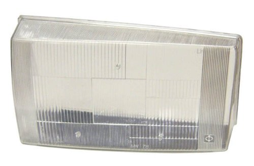 Headlight Lens Only Volvo 240 Left Side 1372081L - Volvo Headlight Lens