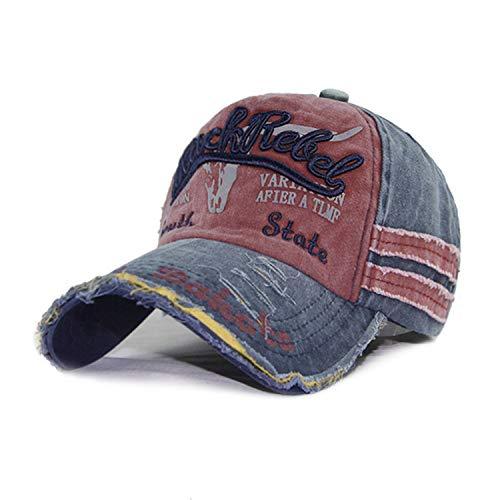 野球帽 男性女性ビンテージ 野球帽 子供キッズカセット 親子帽子,大人のためのF,