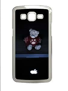 Samsung Galaxy Grand 2 Case - Me To You Bear Custom Samsung Galaxy Grand 2 Case Cover - Polycarbonate - Transparent