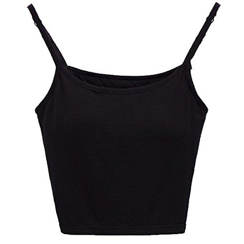 Soutien Noir Camisole Modal Pour gorge Avec Alizeal De Femme Iq4xawUU