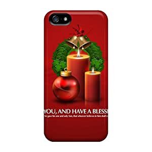 New Hard Cases Premium Iphone 5/5s Skin Cases Covers(christmas)