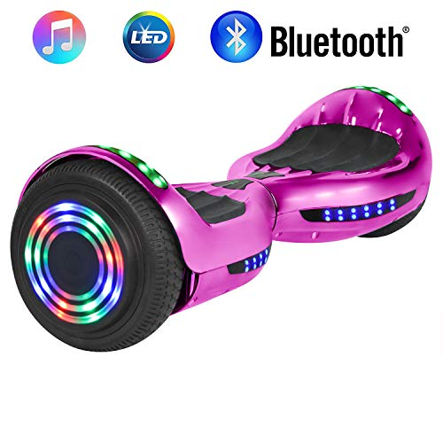 NHT 6.5' Wheel Hoverboard Electric Smart Self Balancing Scooter with Bluetooth Speaker - UL2272...