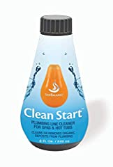 CLEAN START prepares your hot tub for luxuriously simple spa experiences in just hours, not days. With the jets on high, Clean Start will flush your hot tub in 30 minutes. You can drain and refill your spa and not have to worry about lingerin...