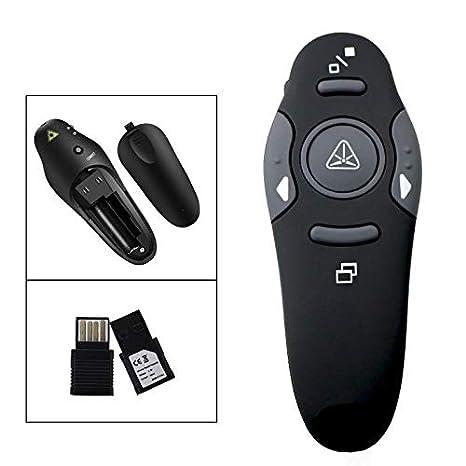 RF 2.4GHz USB Wireless PPT PowerPoint Presenter Remote Control Laser Pointer PEN