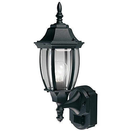 Alexandria 180 Degree Outdoor 18.5h x 7w x 8.5d Black For Sale