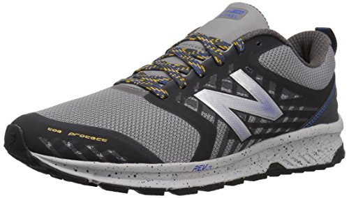 shop for sale with paypal sale online New Balance Men's Nitrel v1 FuelCore Trail Running Shoe Grey/Blue clearance online amazon 7up19